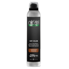 Spray cubre raíces Dry Color Castaño Oscuro
