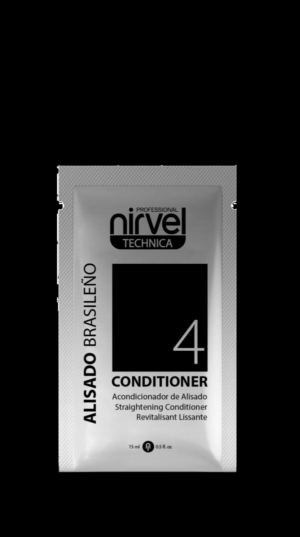 Conditioner Alisado Brasileño Nirvel Professional