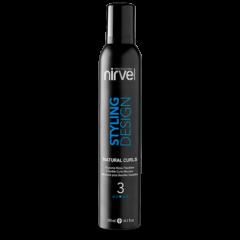 espuma fijadora para cabello rizado Natural Curls